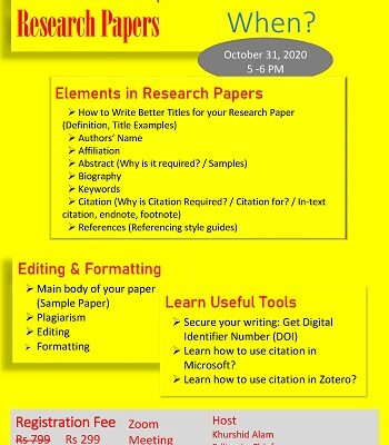 Learn How to Prepare Research Papers